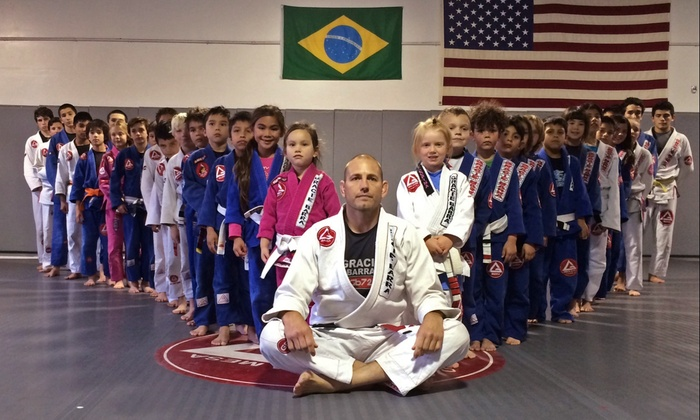 Gracie Barra - Buttercup Creek: Eight Martial-Arts or Cardio-Kickboxing Classes at Gracie Barra (Up to 83% Off)