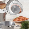 Copper-Bottom Stainless Steel Cookware Set (10-Piece)