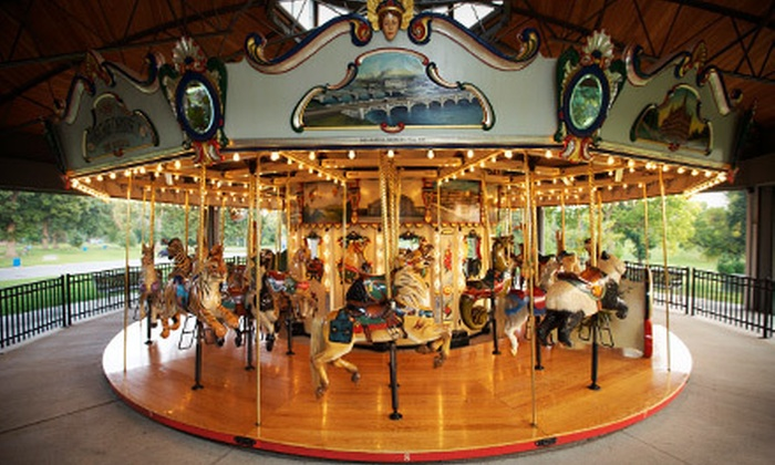 The Heritage Carousel of Des Moines - Capitol Park: Season Passes or Open-Hour Rentals at The Heritage Carousel of Des Moines (51% Off). Four Options Available.