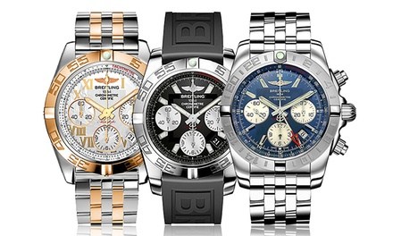 Breitling Men's Certified Chronometer Swiss Watches from $3,999–$7,999