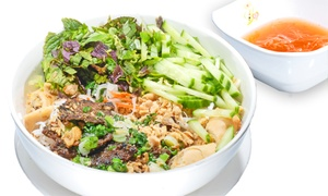 Loving Hut: Vegan Cuisine at Loving Hut Ladera Ranch (Up to 40% Off). Two Options Available.