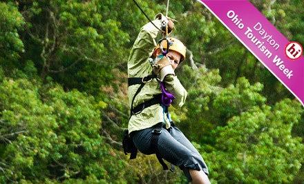 Zipline Adventure Package for 1 (a $119 value) - Hocking Peaks Adventure Park  Hocking Hills in Logan