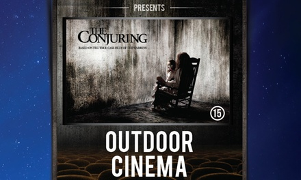 Outdoor Cinema Halloween Event - The Conjuring on 29 October at 7 p.m., Belair House (Up to 17% Off)