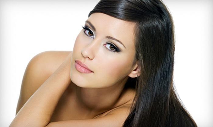 Emerald Cutz Hair Salon - Fairmount - Art Museum: One or Three Keratin Hair Treatments at Emerald Cutz Hair Salon (Up to 83% Off)