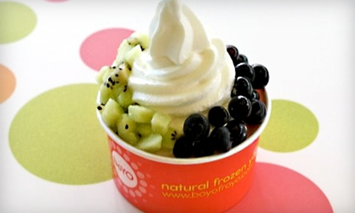 Boyo - Beacon Hill: $5 for $10 Worth of Frozen Yogurt, Smoothies, and More at Boyo