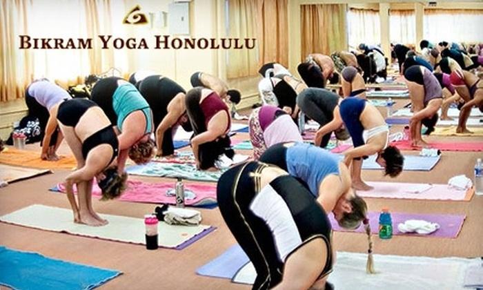 Bikram Yoga Honolulu - Kaimuki: $59 for 44 Days of Unlimited Classes at Bikram Yoga Honolulu ($180 value)