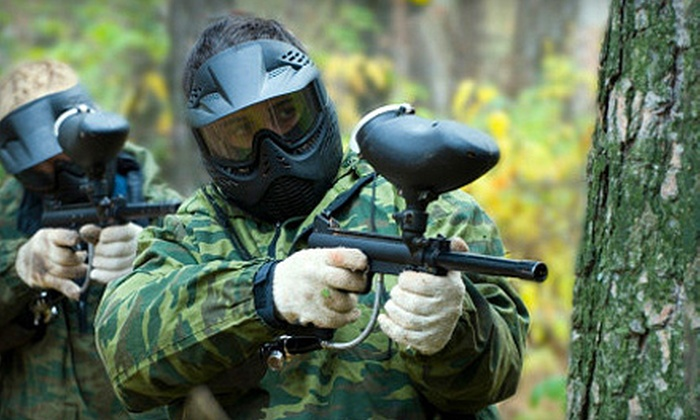 Maple Ridge Paintball - Maple Ridge: Paintball Experience for One, Two, or Five at Maple Ridge Paintball (Half Off)