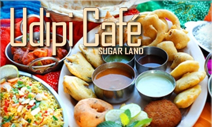 Udipi Café Sugar Land - Sugar Land: $7 for $14 Worth of Vegetarian Indian Fare at Udipi Café Sugar Land