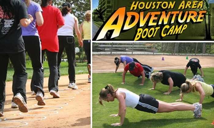 Houston Adventure Boot Camp - Multiple Locations: $75 Worth of Classes at Houston Adventure Boot Camp