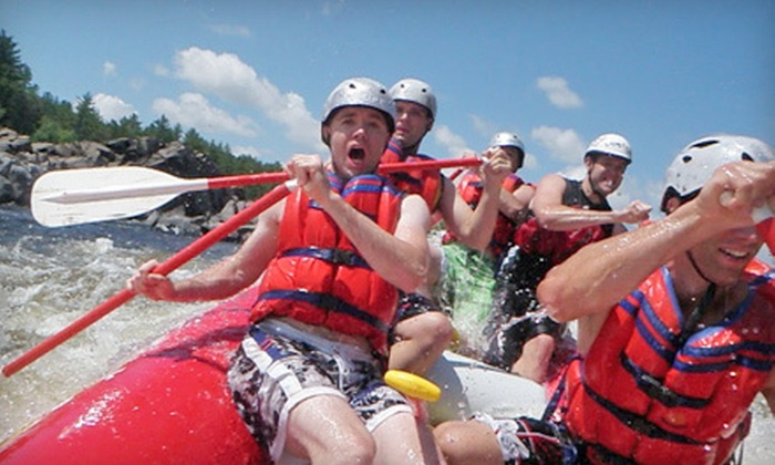Horizon X - Ile du Grand-Calumet: Whitewater Rafting for One or Seven or Riverboarding Outing for One from Horizon X (Up to 55% Off)