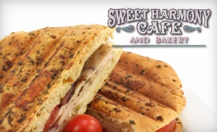 $10 Groupon to Sweet Harmony Cafe and Bakery - Sweet Harmony Cafe and Bakery in Middletown