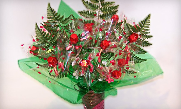 LA Candy Bouquets - Victoria: Halloween-Candy Bouquet or Candy-Rose Bouquet from La Candy Bouquets