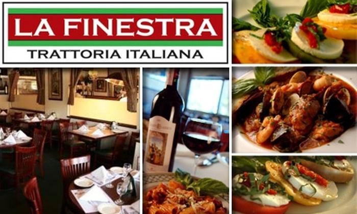 La Finestra - Tarzana: $25 for $50 Worth of Elegant Italian Fare at La Finestra