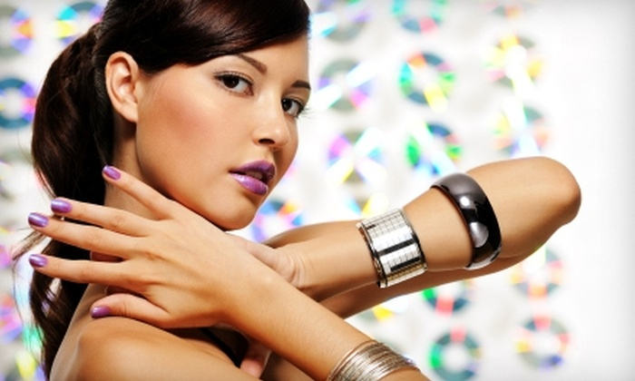 Rumors Salon & Day Spa - Saint Charles: $39 for a Cut, Style, Color Gloss, Brow Wax & Manicure at Rumors Salon & Day Spa in St. Charles (Up to $118 Value)