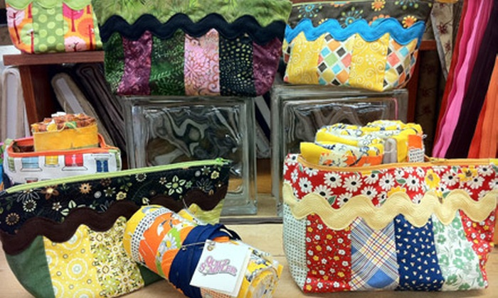 Quilt Sampler - Springfield MO: Introductory Sewing Class and Supplies for One or Two at Quilt Sampler