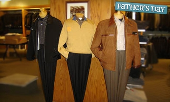Mur-Lee's - Lynbrook: $50 for $100 Worth of Men's and Boys' Designer Clothing at Mur-Lee's in Lynbrook