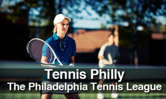 TennisPhilly - Philadelphia: $10 for a Three-Month Partner Program Membership to TennisPhilly ($24 Value)