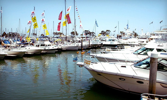 Dana Point Harbor Boat Show - Harbor: Dana Point Harbor Boat Show for Two or Four on June 2 or 3 (Up to 57% Off)