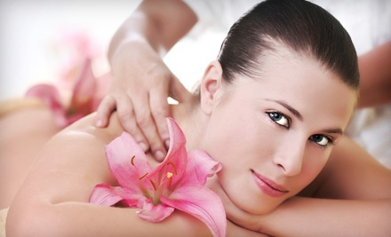 Classic Manicure and Spa Pedicure (a $71 value) - Solaire Hair Studio and Spa in Hudson