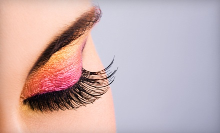 1 Full Set of Eyelash Extensions (a $160 value) - V Nails Facial & Waxing Spa Boutique in San Clemente