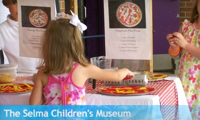 The Selma Children's Museum - Selma: $5 for a Family Pass for Four to The Selma Children's Museum ($11 Value)
