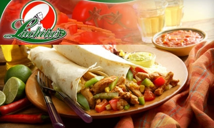 Luchita's Express - University: $5 for $10 (or $12 after 4 p.m.) Worth of Mexican Fare at Luchita's Express