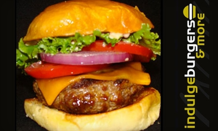 Indulge Burgers Phoenix - Central Scottsdale: $15 for $30 of Build-Your-Own Burgers and Drinks at Indulge Burgers & More