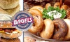 The Bagel Station - Winston-Salem, NC - Multiple Locations: $5 for $10 Worth of Bagels, Deli Sandwiches, and More at The Bagel Station