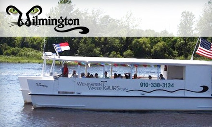 Wilmington Water Tours - Central Wilmington: River Tours from Wilmington Water Tours. Choose from One of Two Boating Excursions.