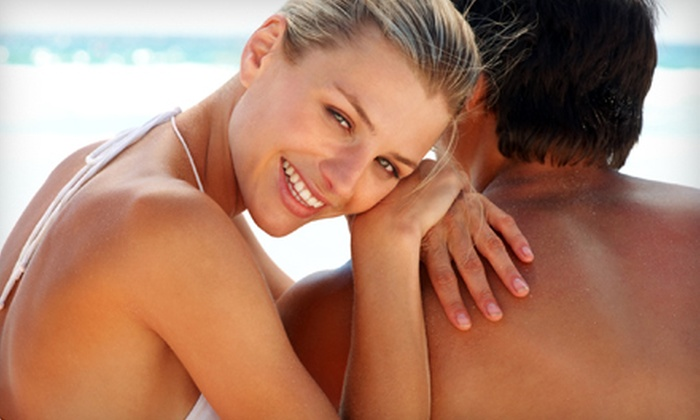 Planet Beach Contempo Spa - Abbott Loop: Six Tanning-Bed Sessions or Two Mystic Spray Tans at Planet Beach Contempo Spa (Up to 61% Off)