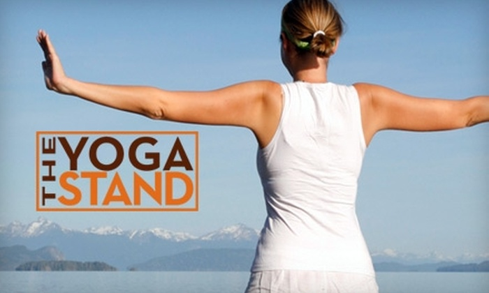 The Yoga Stand - Lubbock: $39 for One Month of Unlimited Yoga Classes at The Yoga Stand ($120 Value)