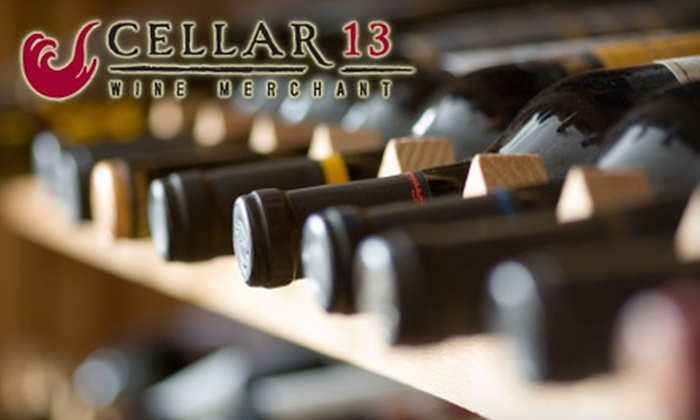 Cellar 13 - North Buckhead: $79 for a Two-Hour Wine Class for Couples at Cellar 13 ($160 Value)