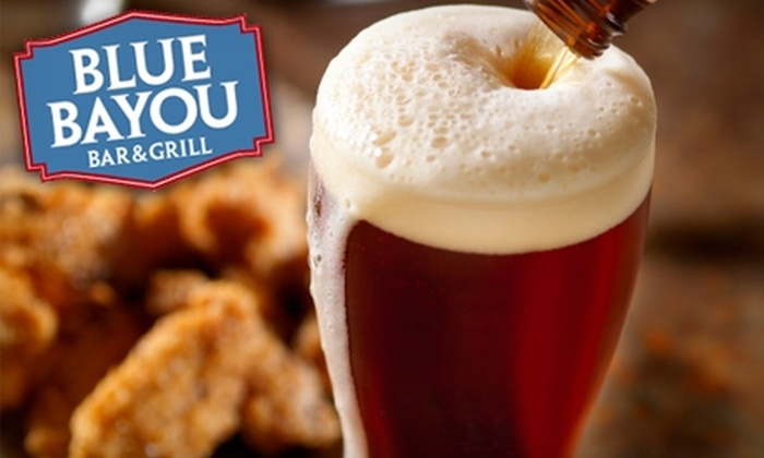 Blue Bayou Bar & Grill - Lakeview: $15 for $30 Worth of Cajun-Inspired Fare and Drinks at Blue Bayou Bar & Grill in Wrigleyville