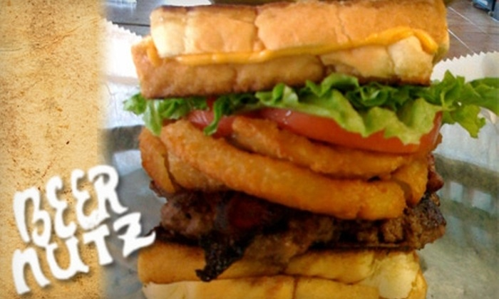 Beer Nutz Bottle Shoppe & Grille - Fox Chapel: $10 for $25 Worth of Pub Fare and Pours at Beer Nutz Bottle Shoppe & Grille