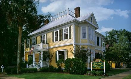 Option 1: Valid SundayThursday, Through July 31, 2012 - Coombs House Inn in Apalachicola