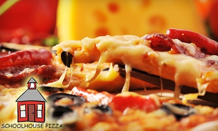 Schoolhouse Pizza - Quincy: $12 for $25 Worth of Pizza and More at Schoolhouse Pizza in Quincy