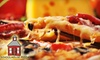 Schoolhouse Pizza (Closed) - Quincy: $12 for $25 Worth of Pizza and More at Schoolhouse Pizza in Quincy
