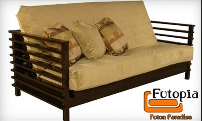 Futopia - Downtown: $25 for $100 Toward Futon Frames, Mattresses, and Covers at Futopia