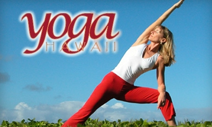 Yoga Hawaii - Kaimuki: $25 for Five Yoga Classes at Yoga Hawaii ($75 Value)