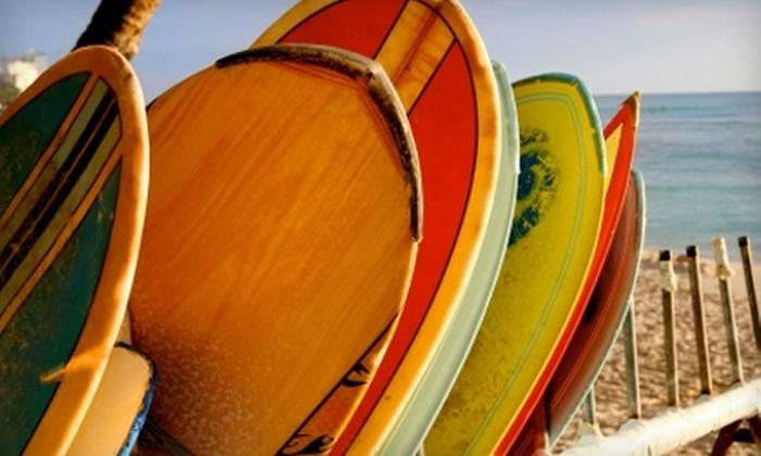 BareWires Surf and Skate - Spring Lake: Surf or Paddleboard Lesson at BareWires Surf and Skate in Spring Lake