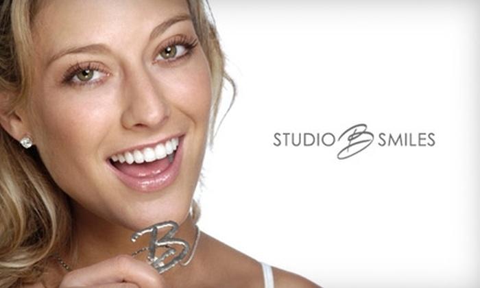 Studio B Smiles - Central Scottsdale: $179 for Zoom! Teeth Whitening Treatment from Dr. John Badalato at Studio B Smiles in Scottsdale ($332 Value)