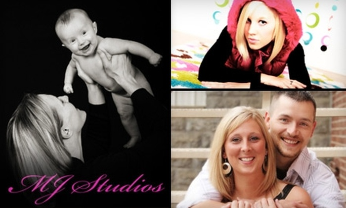 MJ Studios  - Monroeville: $25 for a Photo Session and Prints from MJ Studios ($125 Value)