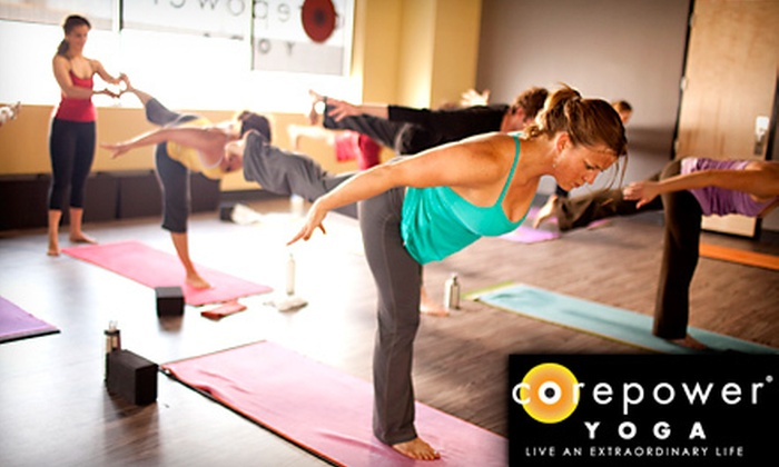 CorePower Yoga - Multiple Locations: $59 for One Month of Unlimited Yoga Classes at CorePower Yoga ($159 Value). Two Locations Available.