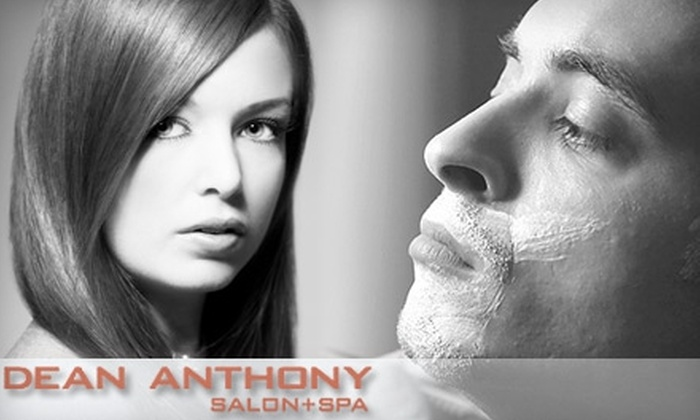 Dean Anthony Salon + Spa - Belmont Shore: $80 for a Deluxe Hair and Spa Package for Men or Women at Dean Anthony