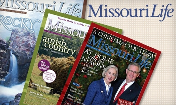 """Missouri Life - St Louis: $8 for a One-Year Subscription to """"Missouri Life"""" ($20 Value)"""
