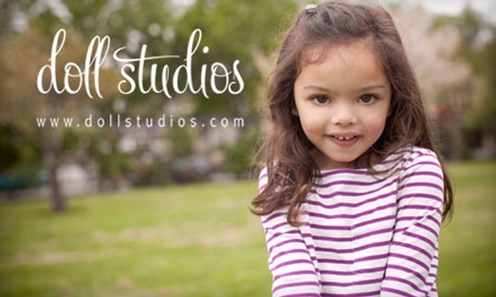 Doll Studios - Multiple Locations: $60 for a 30-Minute On-Location Portrait Session and 20 Digital Images from Doll Studios