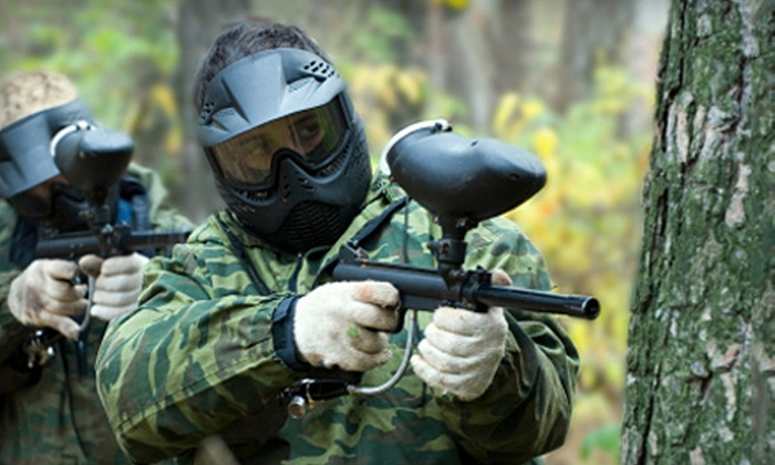 53% Off Paintball Outing in American Canyon - Paintball Jungle ...