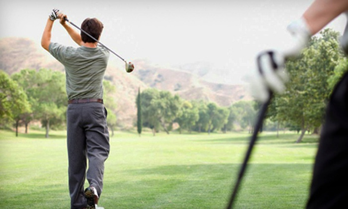 Sterling Golf and Swim Club - Sterling: 18 Holes of Golf with Range Balls for Two or Four at Sterling Golf and Swim Club (Up to 51% Off)