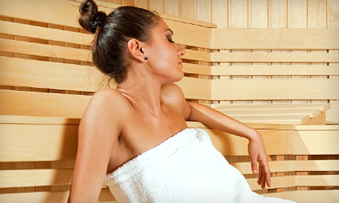 Gravitas - SW Portland,Corbett,South Portland: Three or Five Infrared-Sauna Sessions at Gravitas (Up to 75% Off)