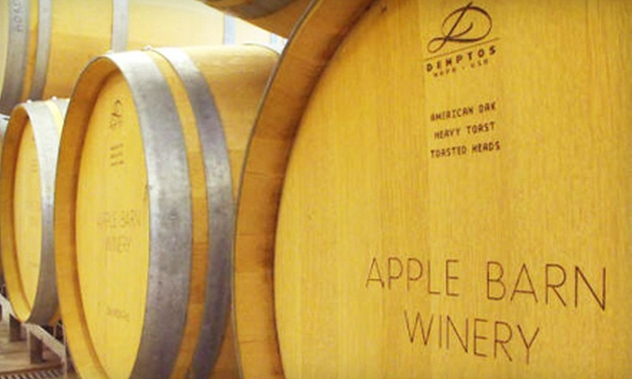 Apple Barn Winery - Hendron: $15 for a Wine-Tasting Package for Two at Apple Barn Winery in Sevierville ($31.96 Value)